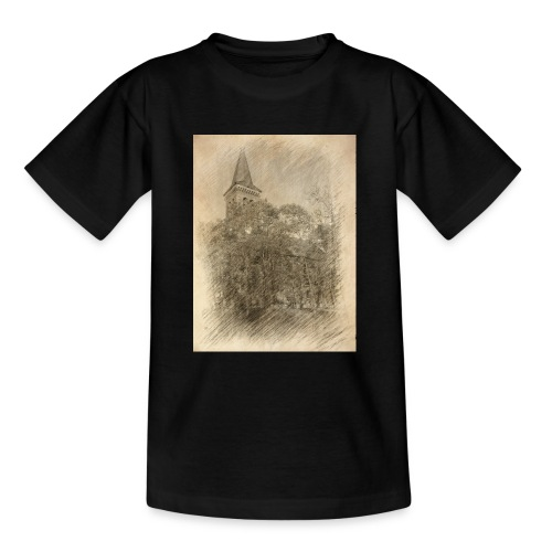 Baalberger Kirche - Teenager T-Shirt