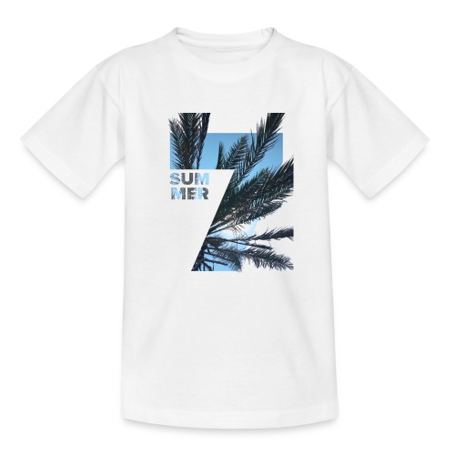 Summertime - Teenager T-shirt
