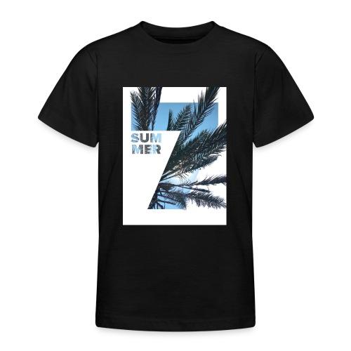 Summertime - Teenager T-shirt