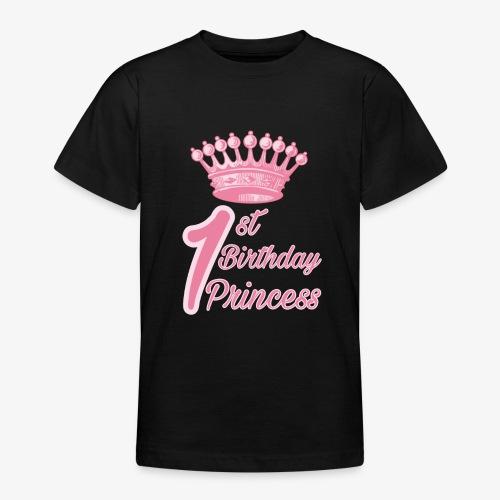 1st Birthday Princess - Maglietta per ragazzi