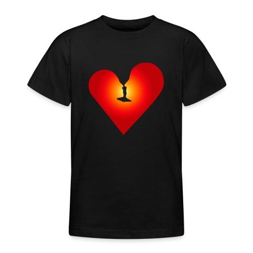 Ein Herz in Liebe - Teenager T-Shirt