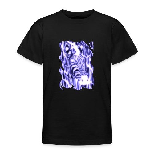 Sähköinen seepra - Nuorten t-paita