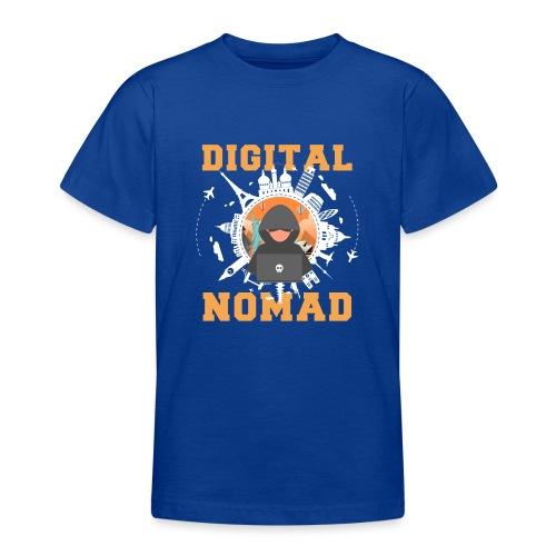 Digital Nomad - Teenager T-Shirt