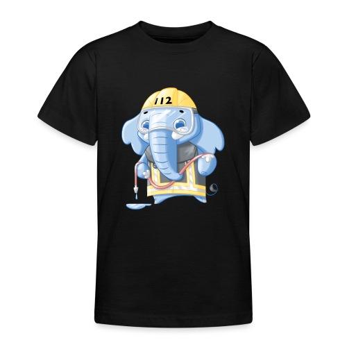 Feuerwehr Elefant - Teenager T-Shirt