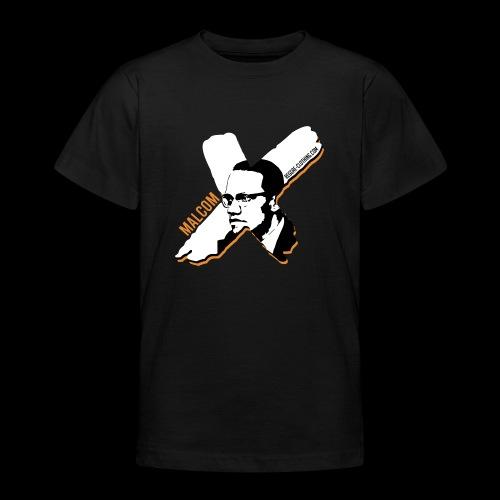 Malcom X - X Letter - Teenager T-Shirt