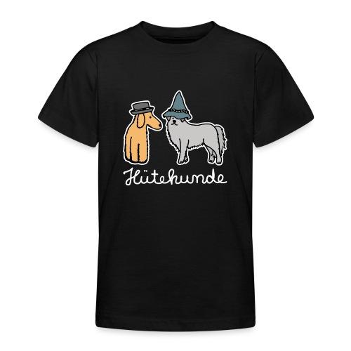 Hütehunde Hunde mit Hut Huetehund - Teenager T-Shirt