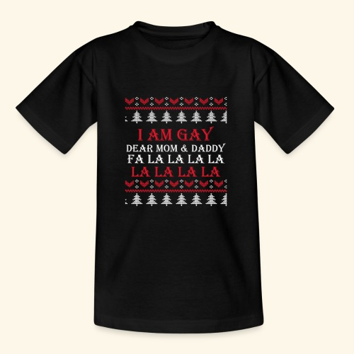 Gay Christmas sweater - Koszulka młodzieżowa