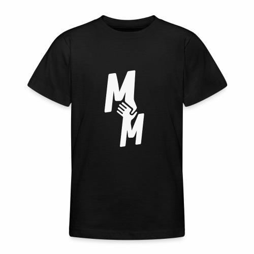 MM white - Teenager T-Shirt