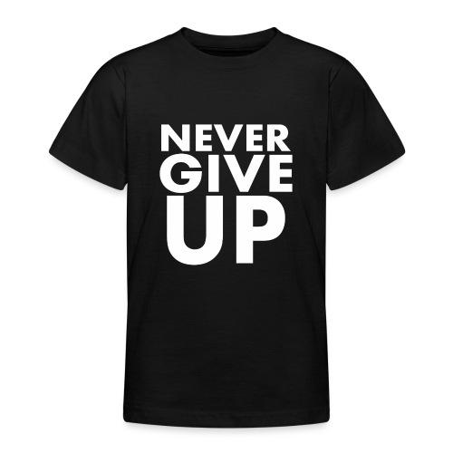 Nigdy nie poddawaj się - Koszulka młodzieżowa