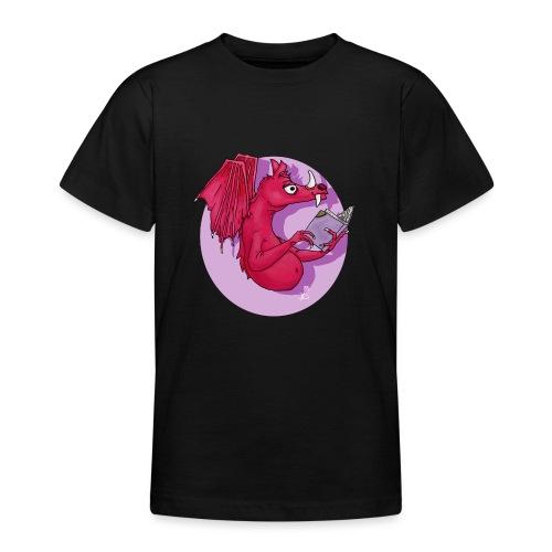 Magische Boekendraak - Teenager T-shirt