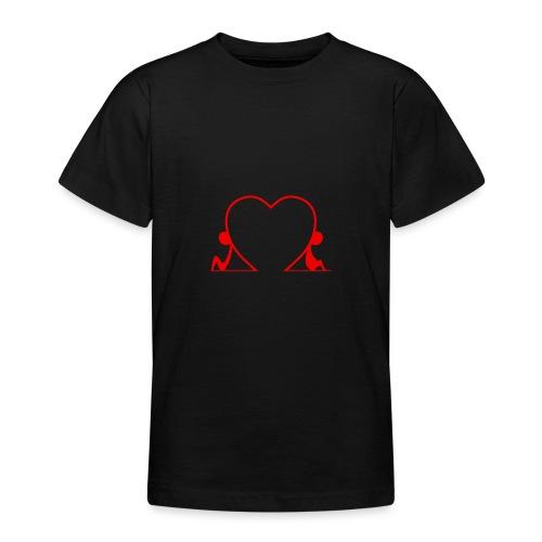 Distanti, ma vicini... RED - Maglietta per ragazzi