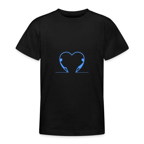 Guardami intensamente... LIGHT BLUE - Maglietta per ragazzi