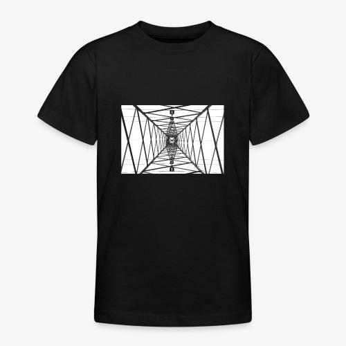 Quermast WhiteBG - Teenager T-Shirt