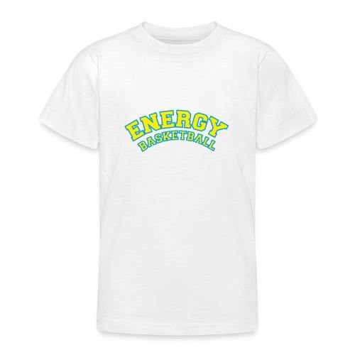 eco logo energy basketball giallo - Maglietta per ragazzi