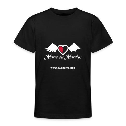 Marie ou Marilyn (version light) - T-shirt Ado
