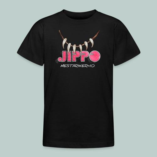 jippomestari_pink - Nuorten t-paita