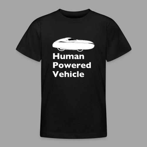 Quest Human Powered Vehicle 2 white - Nuorten t-paita
