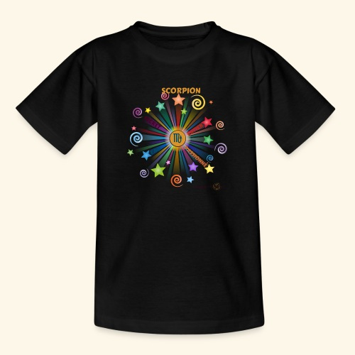 SCORPION powers - T-shirt Ado