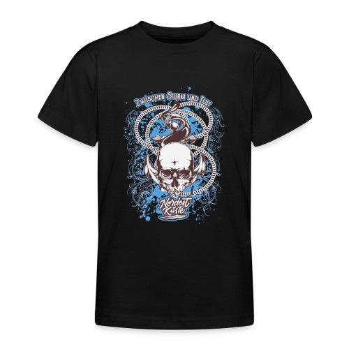 Skull Anker Design Art - Teenager T-Shirt