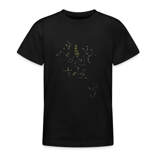 we are also stars/ También somos estrellas - Camiseta adolescente