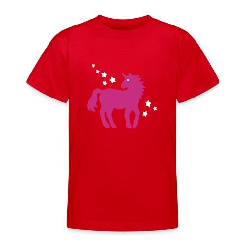 Einhorn - Teenager T-Shirt