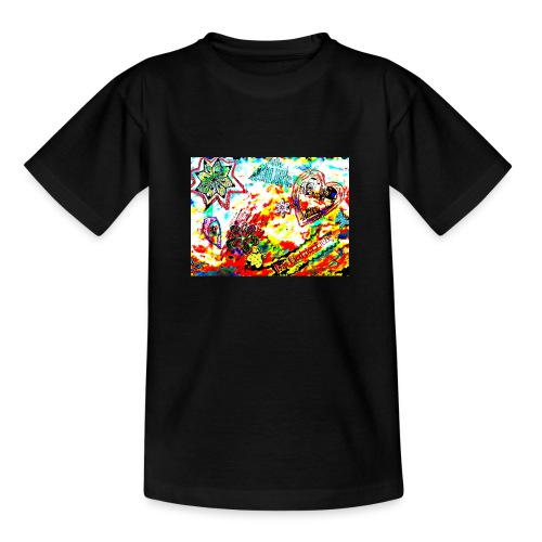 Canción de amor - Camiseta adolescente
