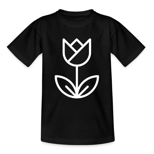 Tulip white png - Teenage T-Shirt