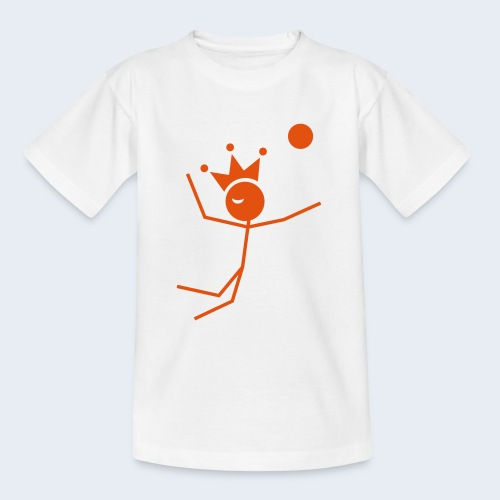 Volleybalkoning - Teenager T-shirt