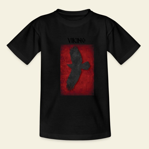 ravneflaget viking - Teenager-T-shirt