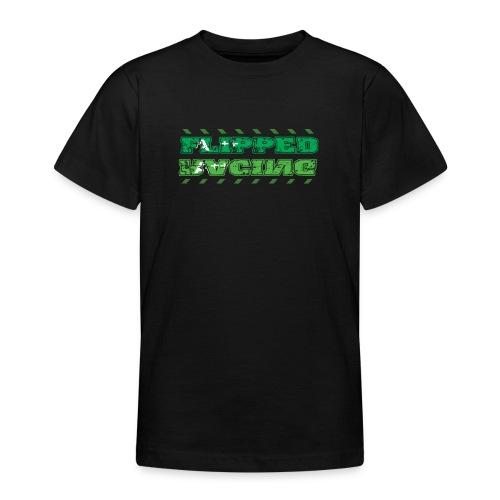 Flipped Racing, A-Plus No Logo - Teenage T-Shirt