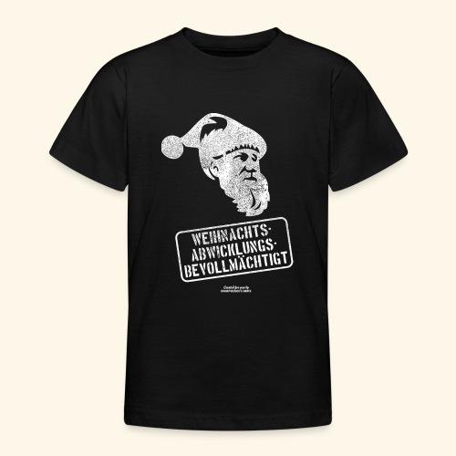 Ugly Christmas Design für Weihnachten - Teenager T-Shirt