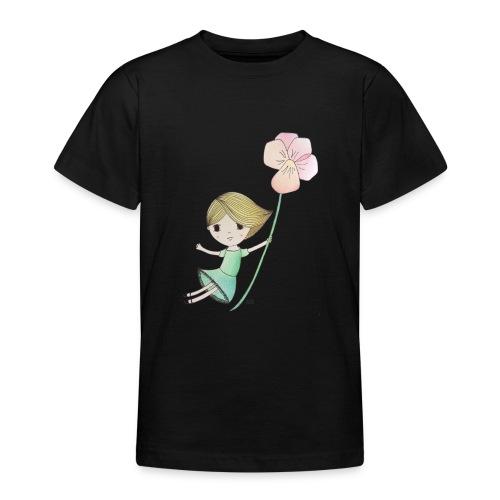 meisje met viool - Teenager T-shirt