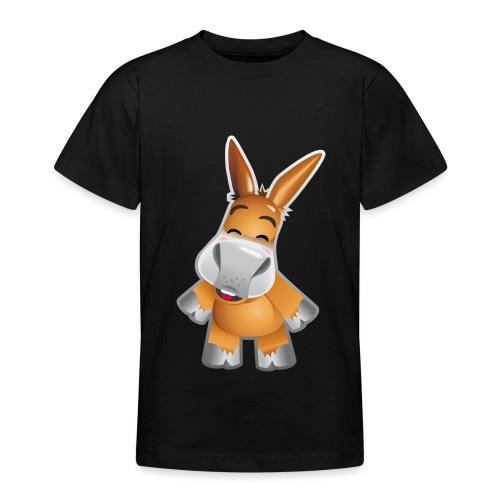 Esel stehend - Teenage T-Shirt