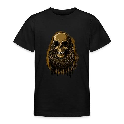 Skull in Chains YeOllo - Teenage T-Shirt