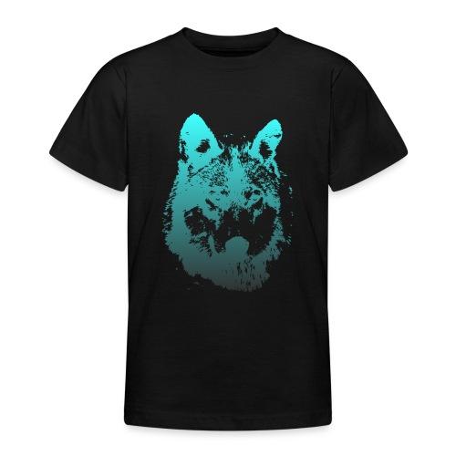 illustration tete de loup - T-shirt Ado