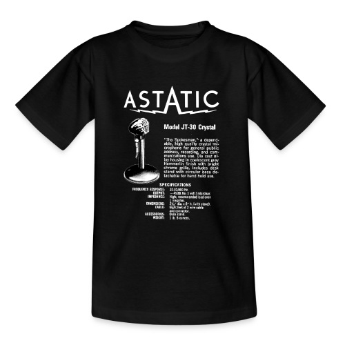 Astatic JT-30 Specs - Teenage T-Shirt