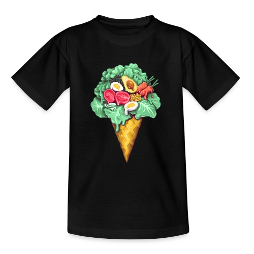 Ice Cream Salad - Teenage T-Shirt
