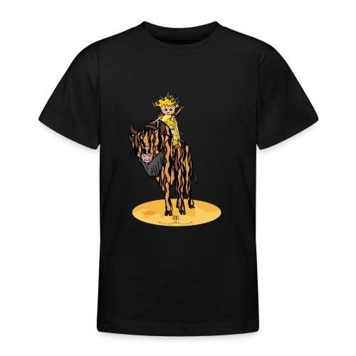 Energiewesen Tigerlus mit Arena - Teenager T-Shirt