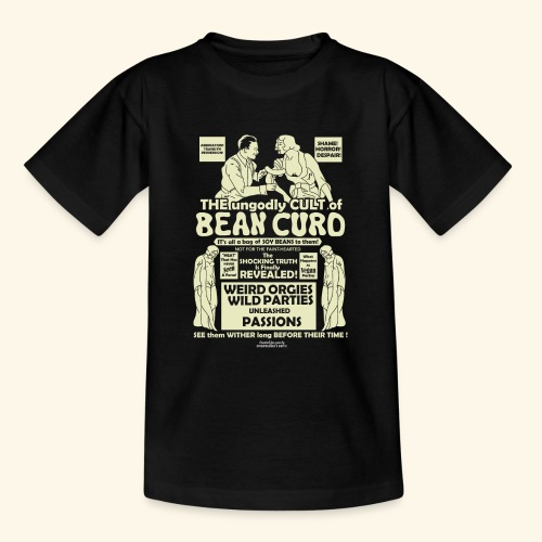 Vegan Tofu T Shirt Design Bean Curd - Teenager T-Shirt