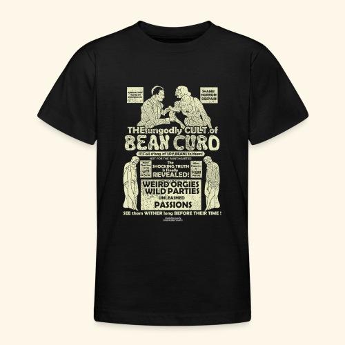 Veggie T Shirt Design Bean Curd Film Poster Spoof - Teenager T-Shirt