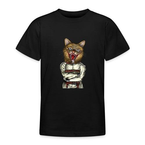Crazy Cat - T-shirt Ado