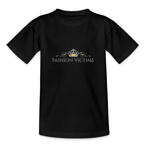 Official Fashion Victims Logo Gold/Silver - Teenager T-shirt