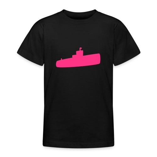 Rosa U-Boot - Teenager T-Shirt