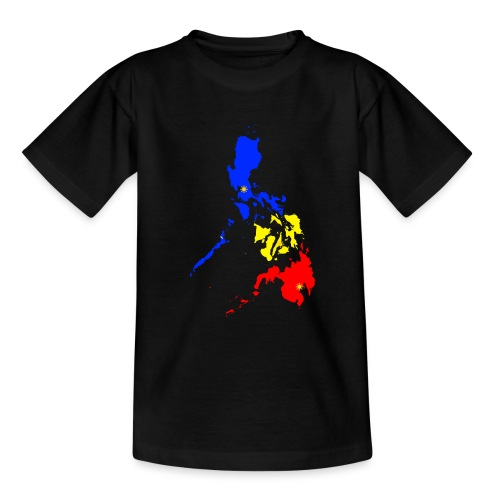 Philippinen Karte - Teenager T-Shirt