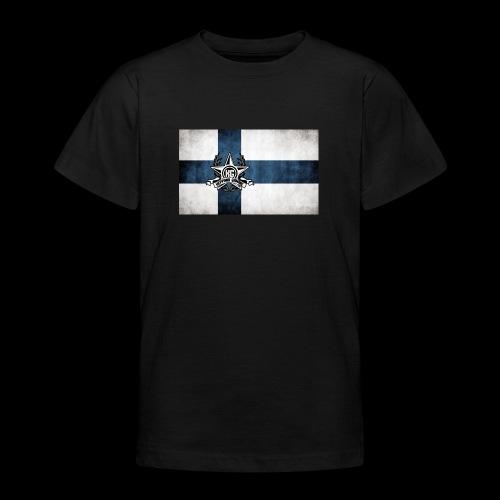 Suomen lippu - Nuorten t-paita