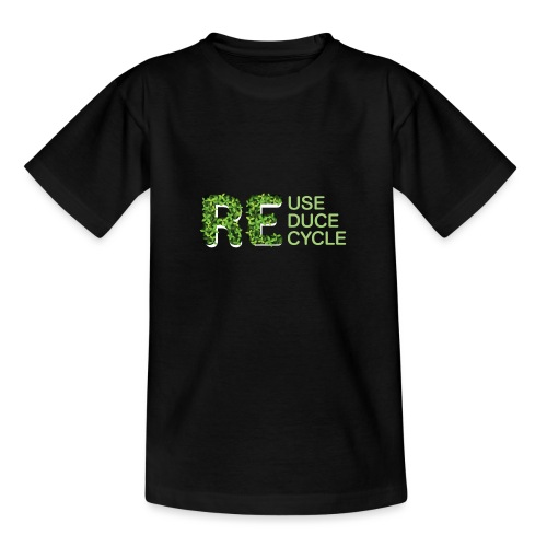 REuse REduce REcycle - Maglietta per ragazzi