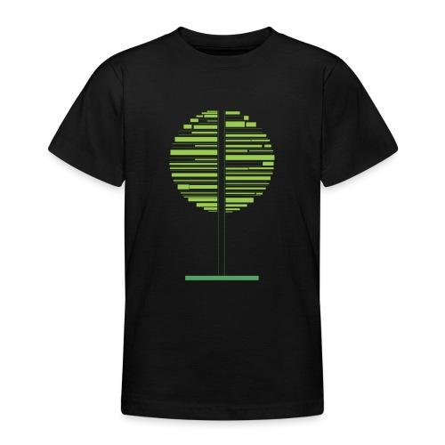 Zielone drzewo - Koszulka młodzieżowa