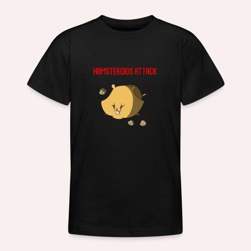 Hamsteroids Attack !!! - T-shirt Ado