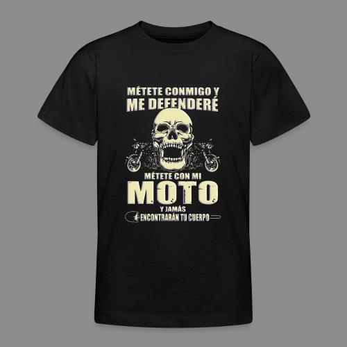 Me defenderé - Camiseta adolescente