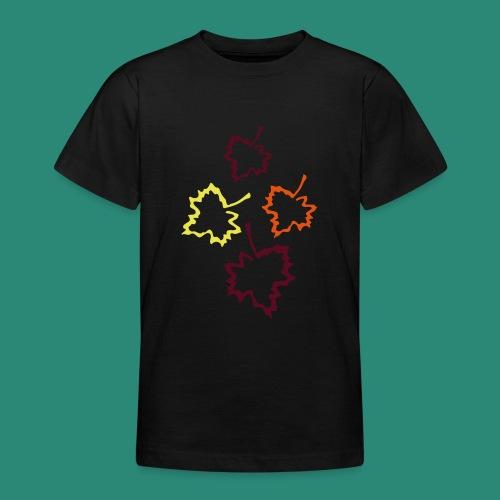 Herbstblätter 2 - Teenager T-Shirt